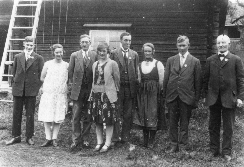 1929 Jämtlandsbesökare på Sollerön