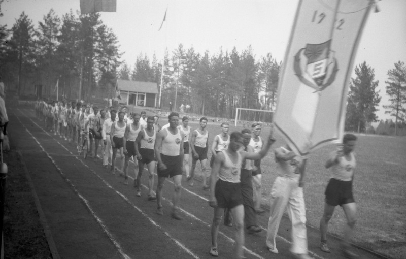Invigning av idrottsplan