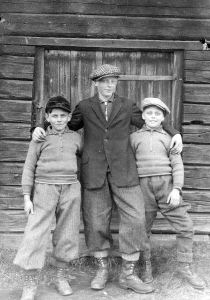 Gunnar, Nisse och Verner