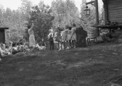 Söndagsskoleavslutning på Tollagården