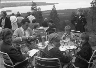 Familjen Fagergren på Gesundaberget