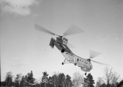 Helikopterbesök i Gesunda