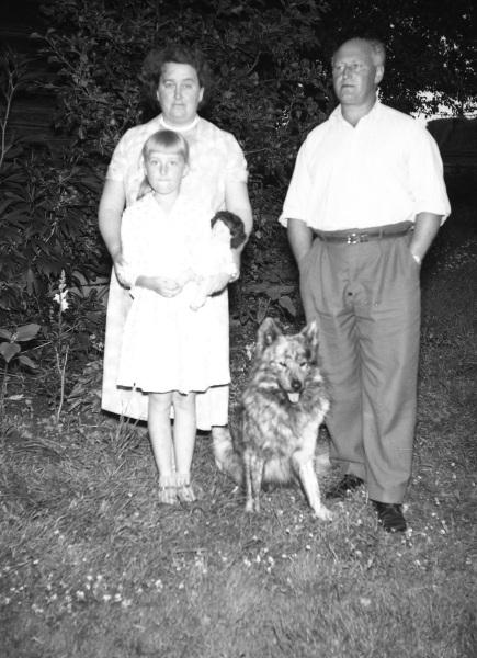 Ejnar Boms familj