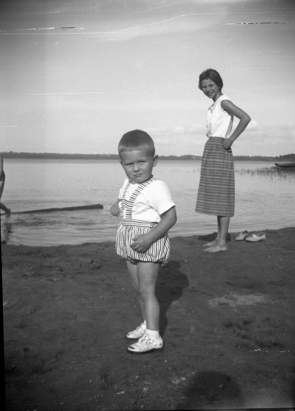Sören och storasyster Inger