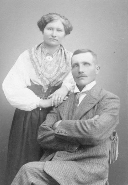 Lars Bråmer med fru