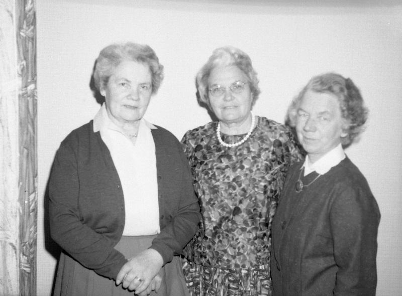 Lilly, Anna och Siri