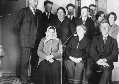 Familjerna Bos och Nishans