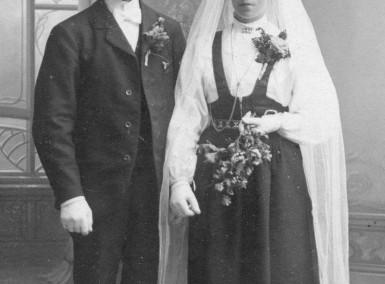 Nils och Anna gifter sig