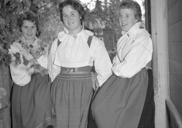 Lisa, Kisti och Inger