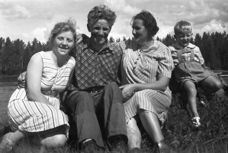 Glada människor