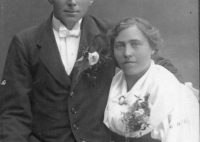 Bond Per och hustrun Ryss Anna