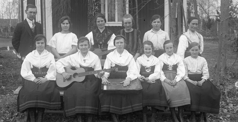 Grupp med kvinnor