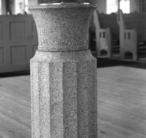Dopfunten i Sollerö kyrka