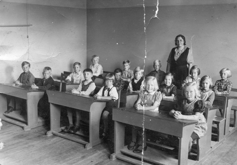 Skolklass 1941