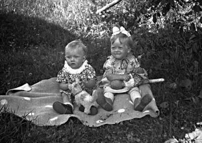 Monika och Solveig