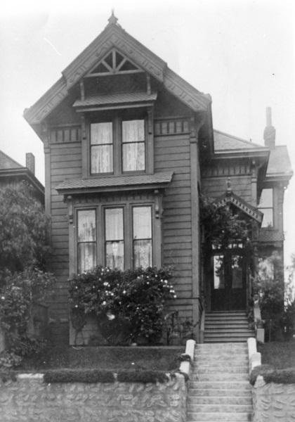 Anders Lejon´s hus i San Fransico