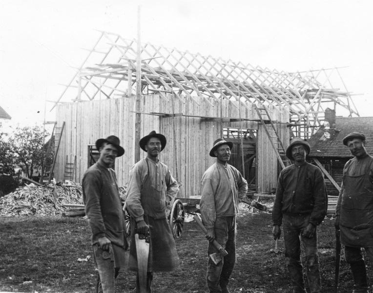 Husbygge 1918
