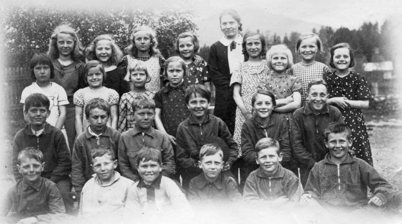 Skolklass för Lilly Sterner-J i Gesunda