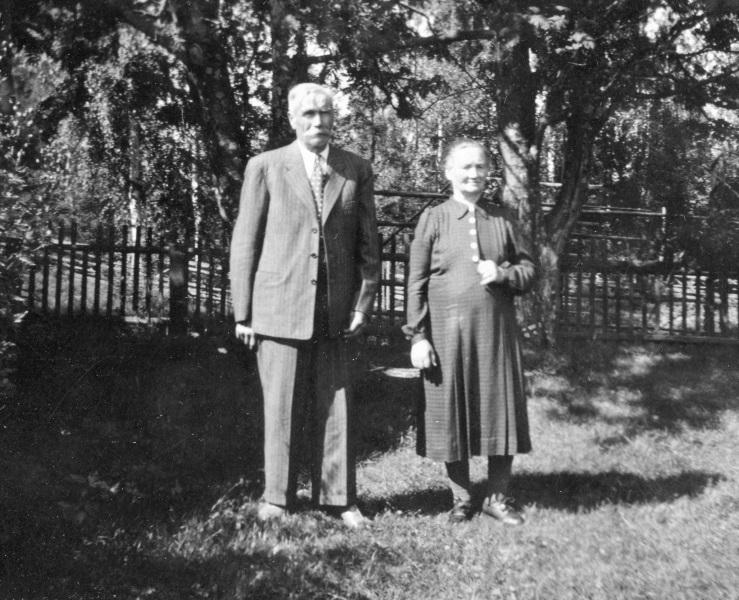 Herr och fru Karlsson