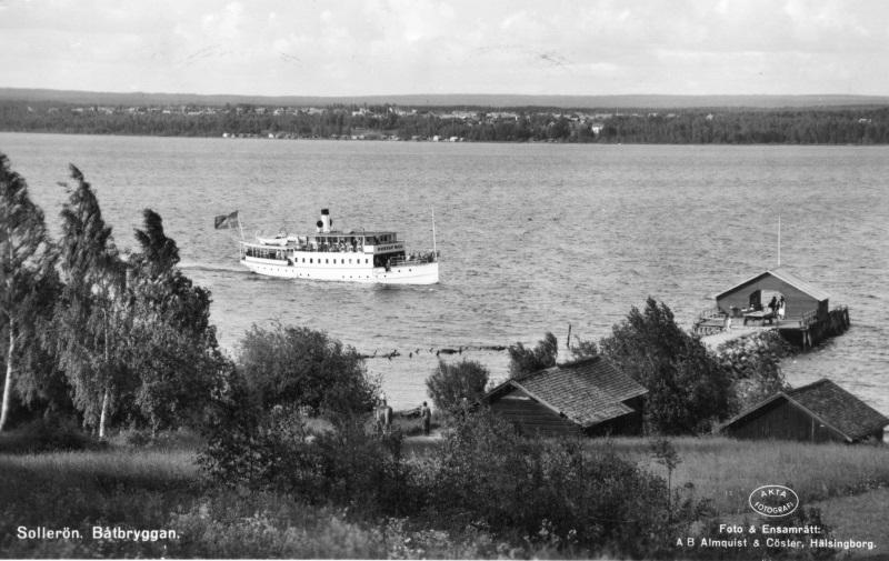 Ångbåtsbryggan Sollerön