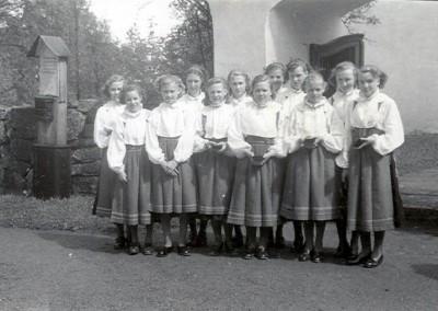 Konfirmation 1950