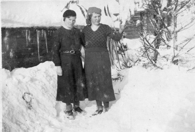 Anna och Stina