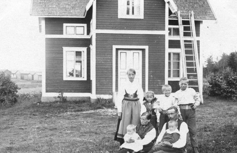 Familjen Erik Albert Karlsson 1919