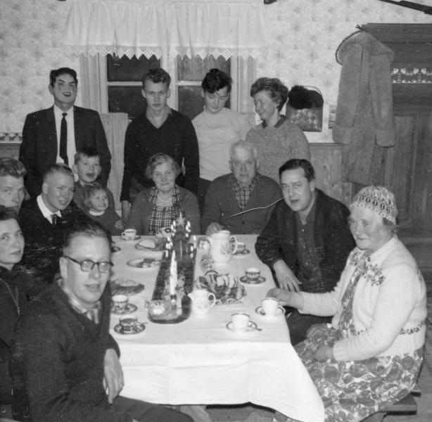 Julafton 1963 i Svenbacken