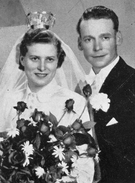 Märta och Ivar gifter sig 1953