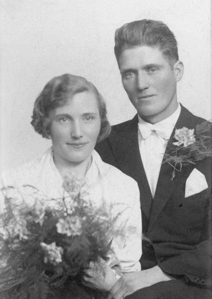 Anna och Anders gifter sig 1937