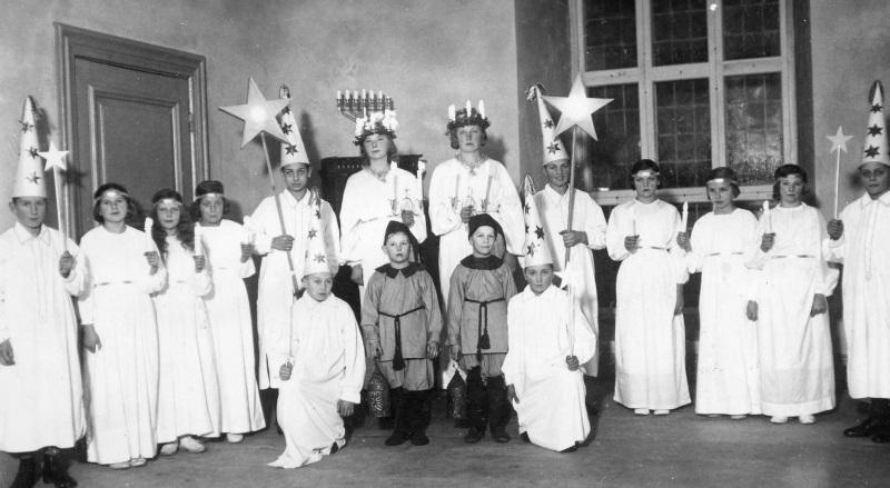Luciafölje 1935
