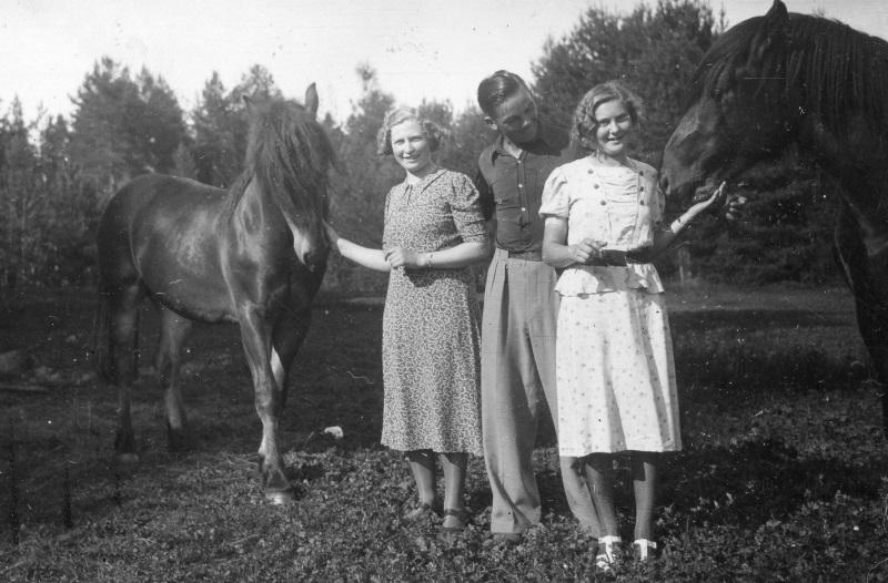 Vid hästarna
