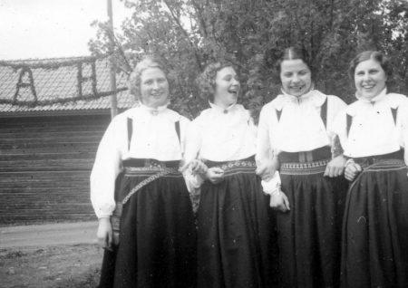 Frida, Anna, Karin och Karin
