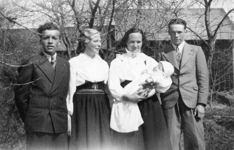 Holger Duhlbo döps våren 1940