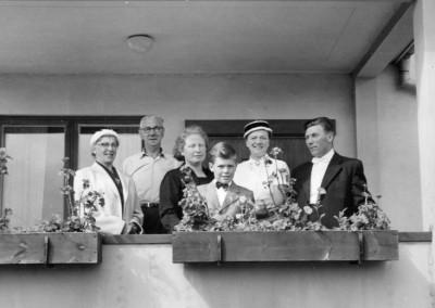 På balkongen 1957