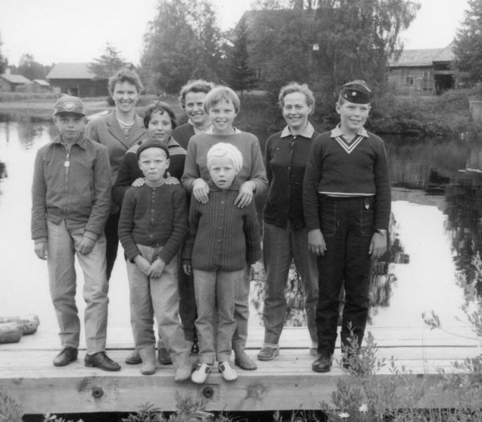 Gruppfoto 1958
