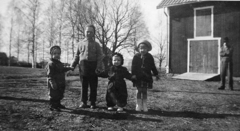 Fyra barn