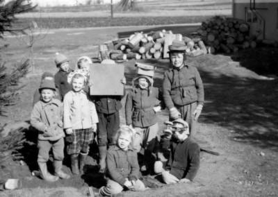Många barn
