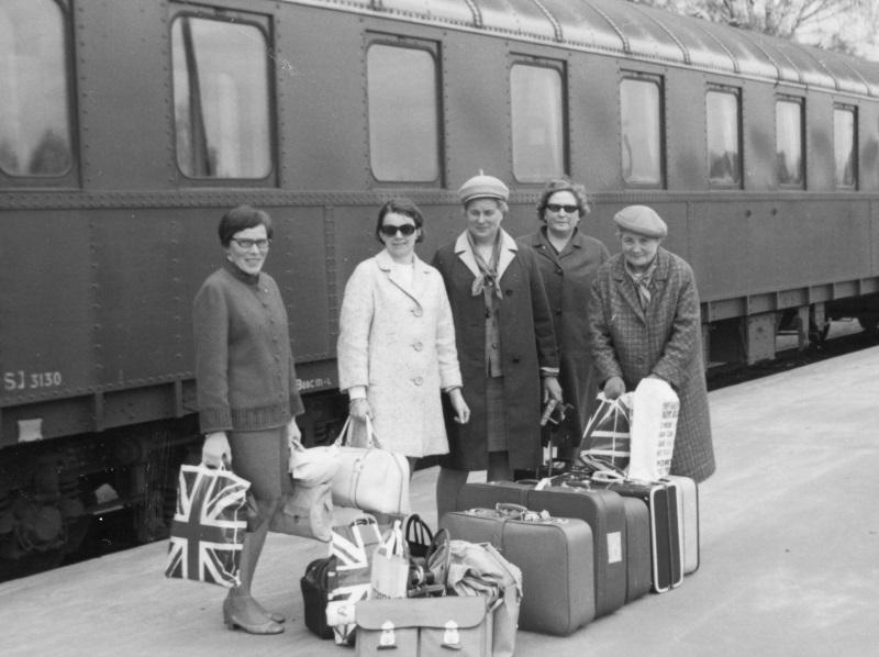 Tågresa till London