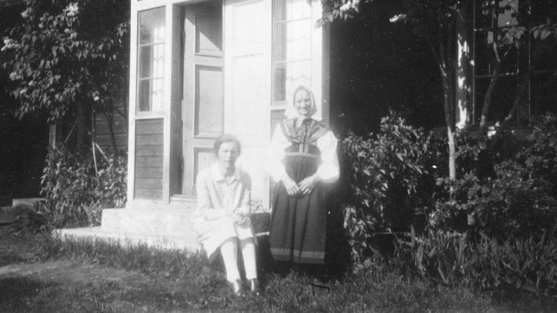 Anna och Karin 1930