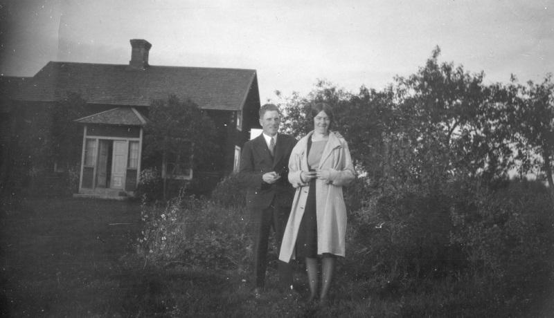 Karl med fru
