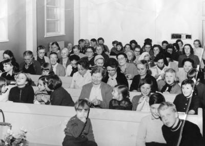 Norrländskt symöte i Missionshuset februari 1956