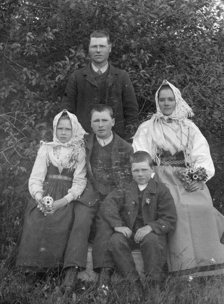 Järk Lars med familj