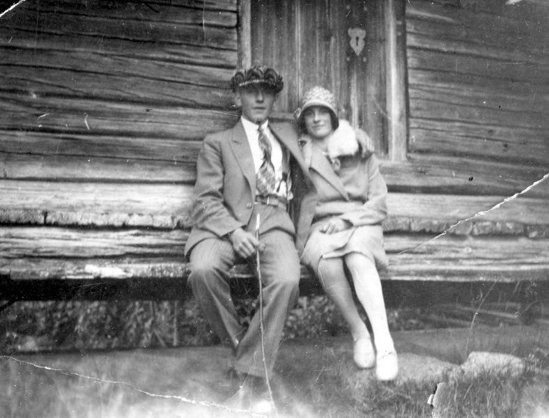 Stunis Gunnar och Olhans Maria 1929