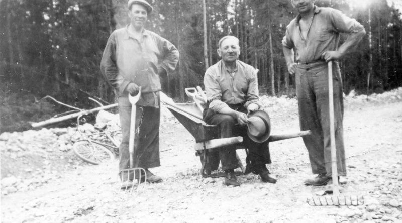 Sävsjövägen, Vimo 1950