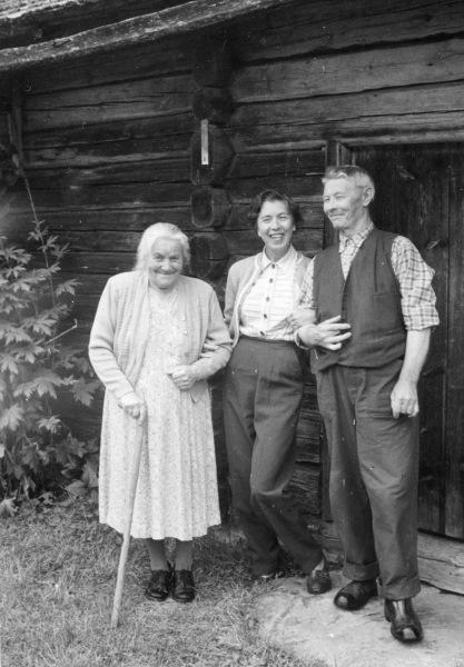 Två okända och Lars Norén