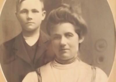Anna med sonen Anton