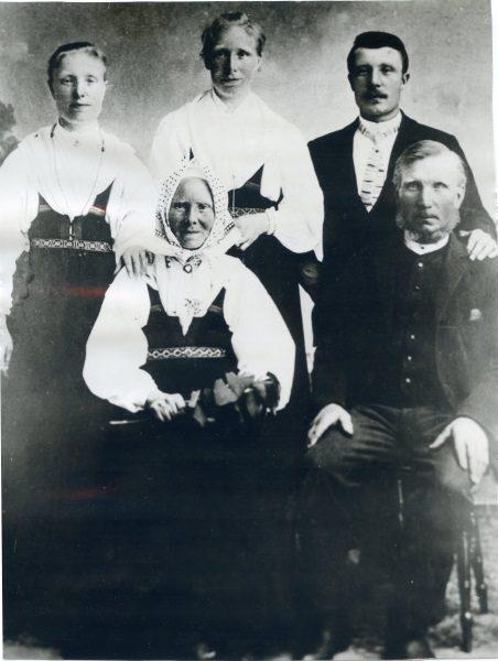 Bus Olof Nilsson Familj