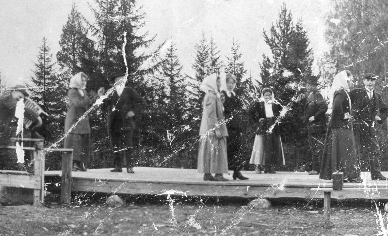 Första dansbanan i Gesunda 1911