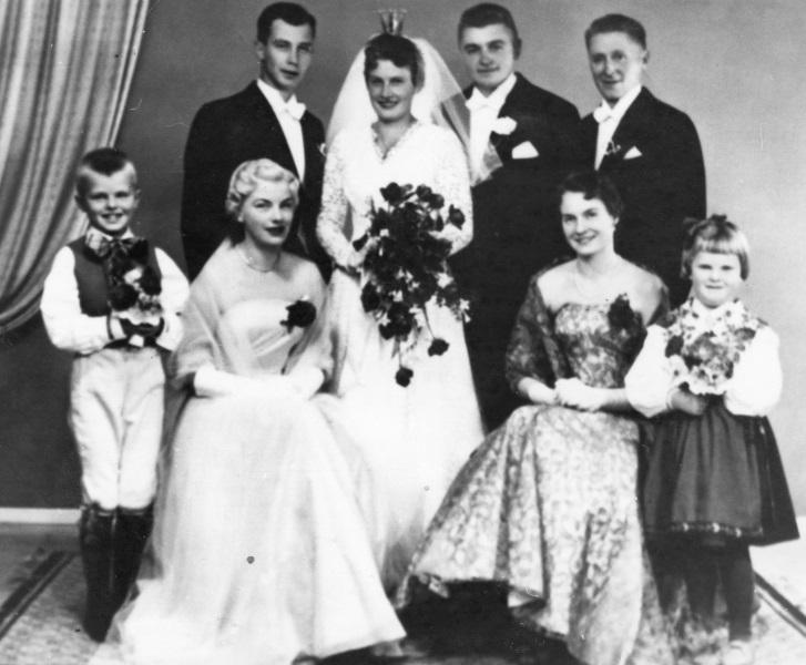 Bröllop 1958